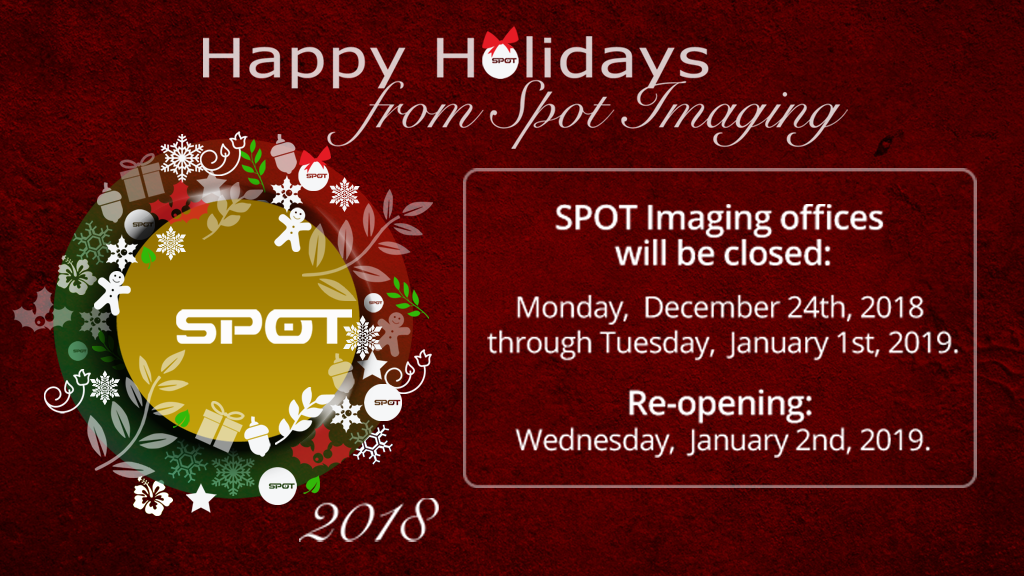 Happy Holidays from SPOT Imaging!
