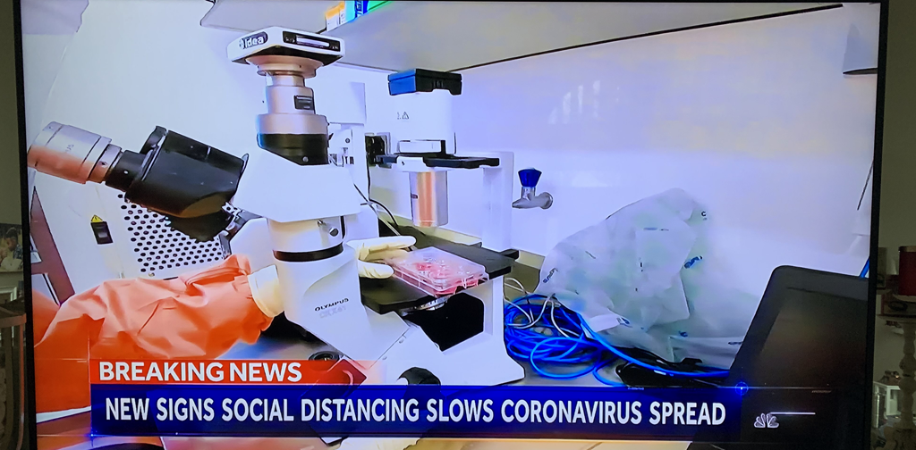 SPOT Cameras helping fight Coronavirus!