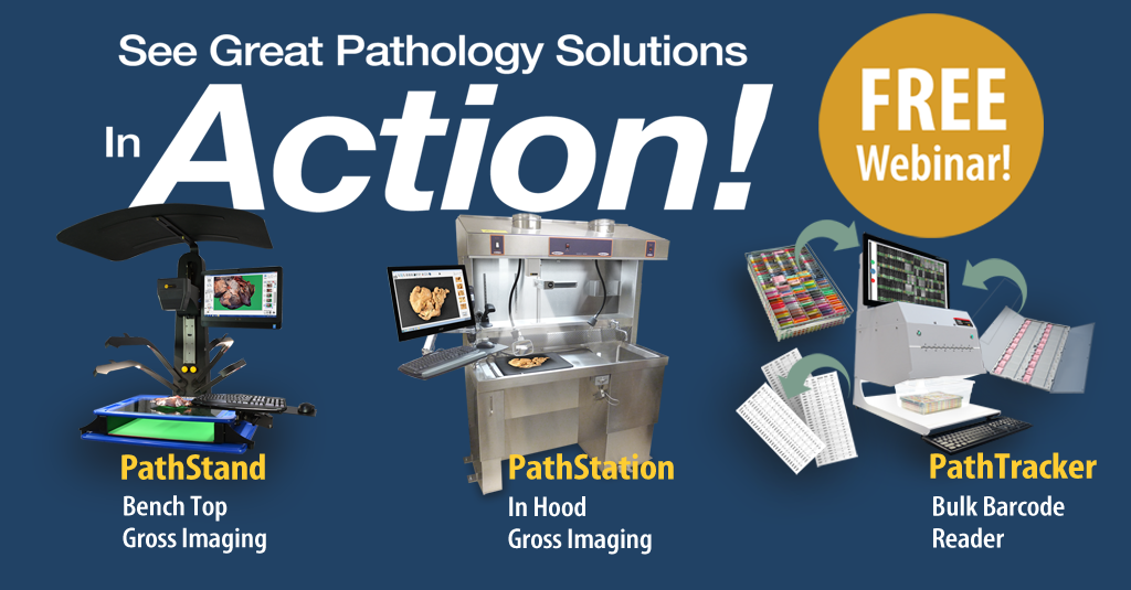 You're invited to see our Pathology Solutions in Action Webinar!  FREE…