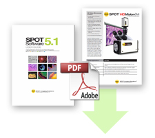 Spot Imaging Solutions Product Brochures, Manuals, and Technical Specifications for Current and Legacy Products